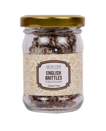 English Brittles in Dark Chocolate